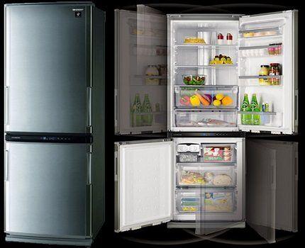 Холодильники Шарп