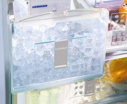 Контейнер для производства льда