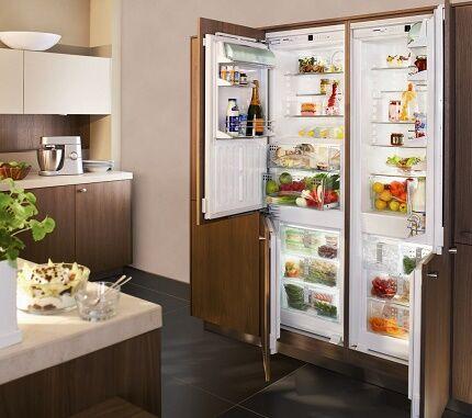 Многокамерный японский холодильник