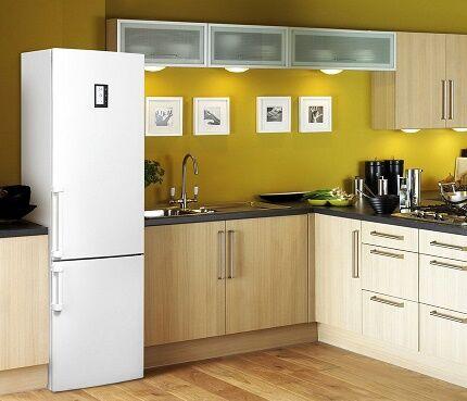 Холодильник с нижним расположением морозилки