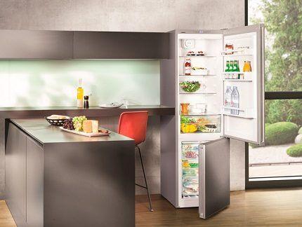 Холодильник Либхер в интерьере