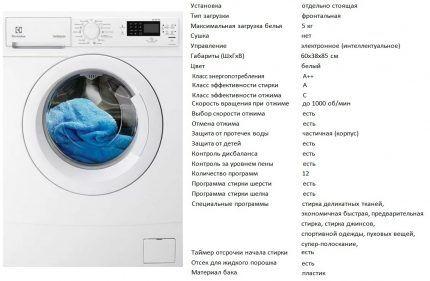 Модель EWS 1052 NDU