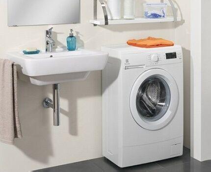 Супер узкая стиральная машина от компании Electrolux