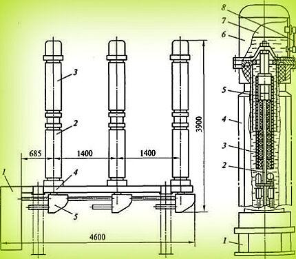 Выключатель ВМТ-110