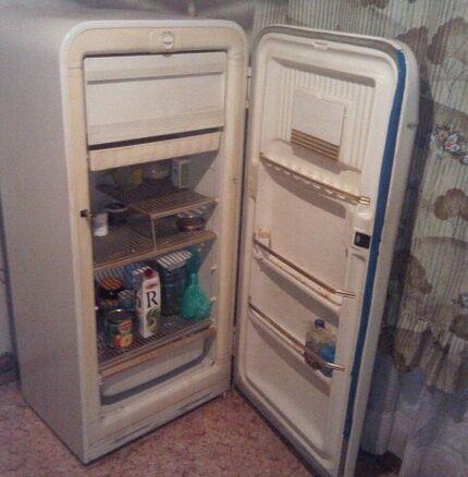 Одна из первых модификаций холодильников марки Минск