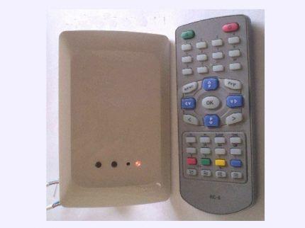 Радиоуправляемое устройство с пультом
