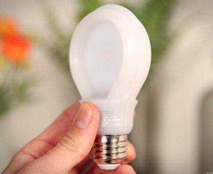 Лампа-таблетка