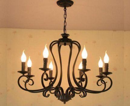 Свечевидные лампы