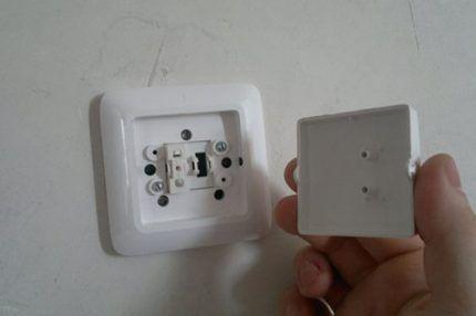 Проверка выключателя