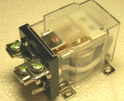 Электромеханический двухпозиционный контактор