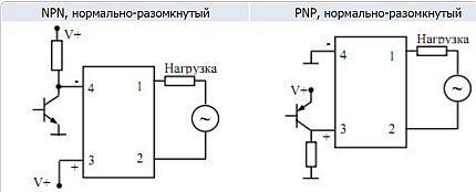 Типы однофазных схем подключения ТТР
