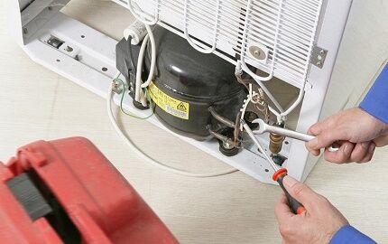 Замена компрессора холодильного агрегата Самсунг