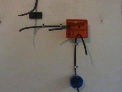 Подготовка к монтажу выключателя