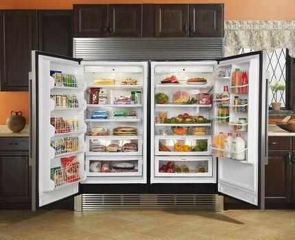 Полезное пространство холодильника