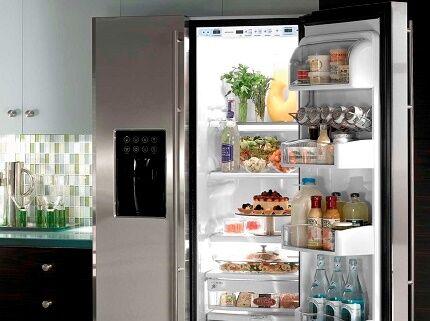 Учет пространства для выбора двухдверного холодильника