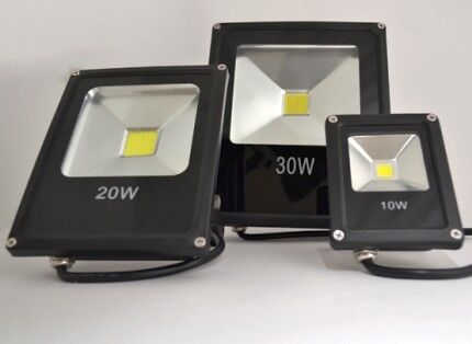 LED spotlights of various power