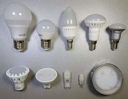 Types of LED-lamp designs