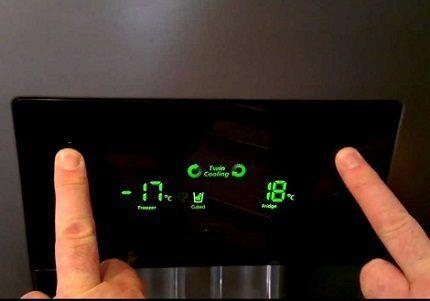 Настройка точной температуры
