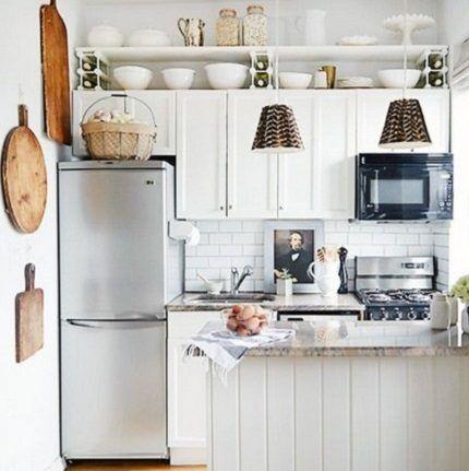 Правильная расстановка на маленькой кухне
