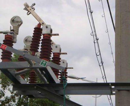 Работающая электрическая сеть
