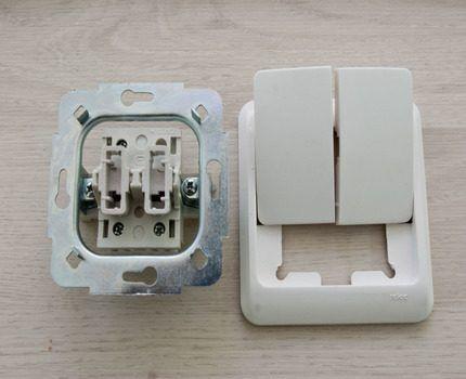 Выключатель без подсветки