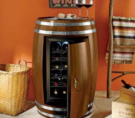 Оригинальный винный холодильник