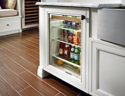 Встроенный компрессионный холодильник для вина