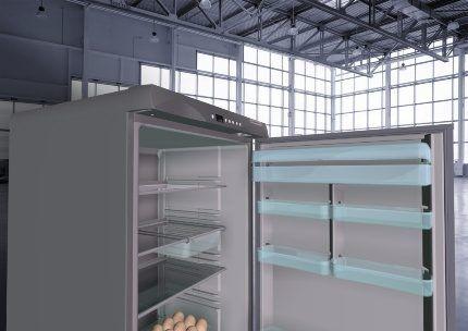 Внутренний отсек нового холодильника Саратов