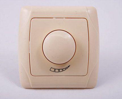 Беспроводной выключатель с диммером