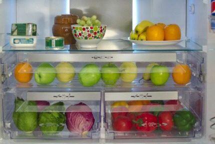 """Зона свежести в холодильнике """"Вестфрост"""""""