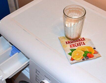 Использование лимонной кислоты