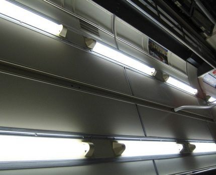 Indoor fluorescent lamps