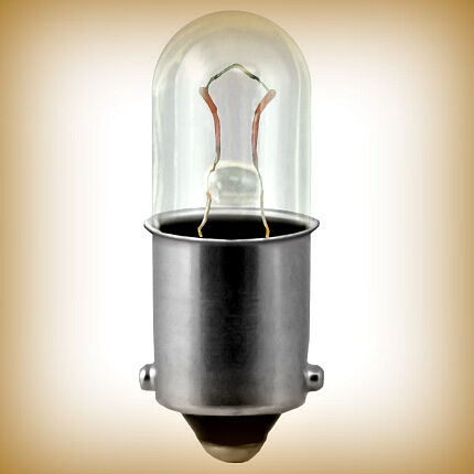 Лампа с цоколем bayonet