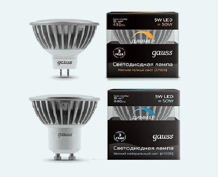 Лампы Gauss