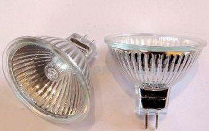 Галогенная лампа направленного действия
