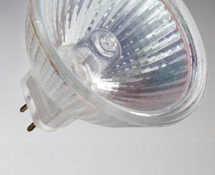 Галогенная лампа G4 с рефлектором