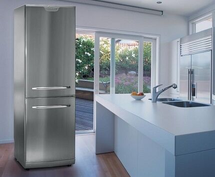 Abundant assortment of household refrigerators