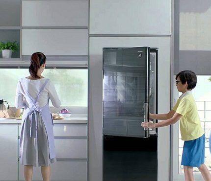Модели холодильников Sharp