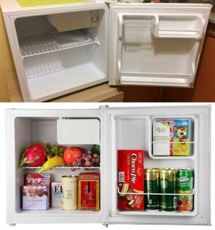 Однокамерный холодильник - мини бар