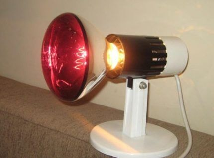 Устройство инфракрасной лампы