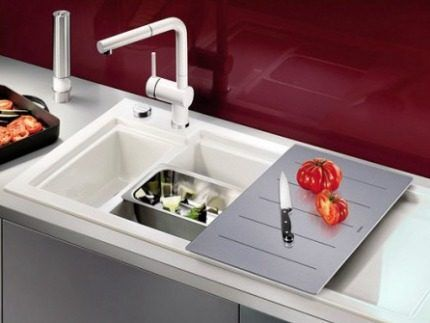 Ceramic sinks Blanco