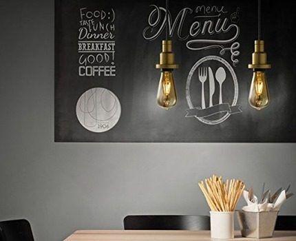 Лампи для повышения декоративных свойств интерьеров