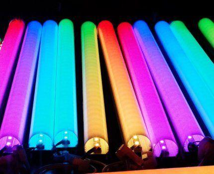 Цветные лампы Экола