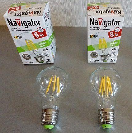 Светодиодные лампочки E27 Navigator