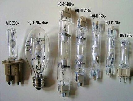 Varieties of metal halide lamps