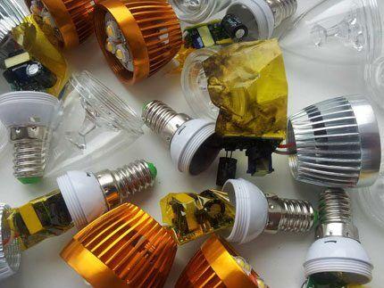 Некондиционные светодиодные лампы