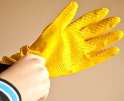 Перчатки для сбора стеклобоя