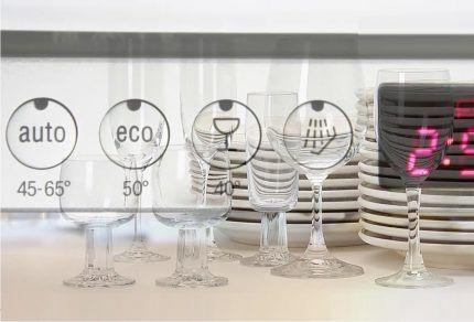 Автоматическая подстройка посудомойки