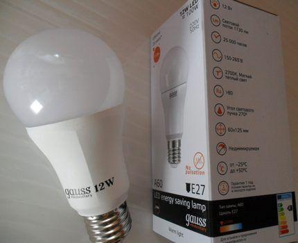 Светодиодная классическая лампа