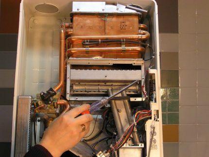 Автоматика газовой колонки